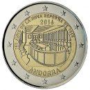 Andorra 2016 2 Euro Münze 150 Jahre Neue Reform