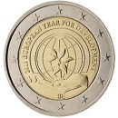 Belgien 2015 2 Euro Münze Europäisches Jahr der Entwicklung