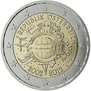 Euroeinführung 2 Euro Österreich 2012