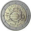 Euroeinführung 2 Euro Slowenien 2012