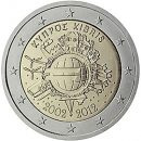 Euroeinführung 2 Euro Zypern 2012