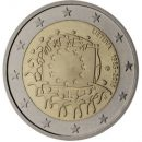Europaflagge Litauen 2015 Gemeinschaftsserie 2 Euro