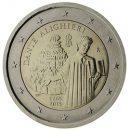 Italien 2015 2 Euro Münze Dante Alighieri 1265 bis 2015