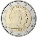 Luxemburg-2006-2-Euro-Münze-25.-Geburtstag-Großherzog-Guillaume