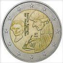 2 Euro Niederlande 2011 Münze Theologe Erasmus von Rotterdam
