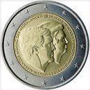 Niederlande 2014 2 Euro Münze Königin Beatrix und König Willem-Alexander