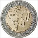 Portugal 2009 2 Euro Münze Lusofonie