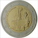 Portugal 2014 2 Euro Münze Familienbetriebene Landwirtschaft