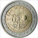 San Marino 2005 2 Euro Münze Jahr der Physik