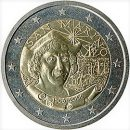 San Marino 2006 2 Euro Münze 500. Geburtstag Christopher Columbus