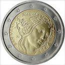 San Marino 2010 2 Euro Münze Sandro Botticelli