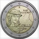 San Marino 2016 2 Euro Münze 550 Todestag Donatello