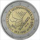 Slowakei 2011 2 Euro Münze Gründung der Visegrad Gruppe