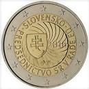 Slowakei 2016 2 Euro Münze EU-Ratspräsidentschaft