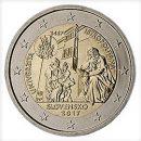 Slowakei 2017 2 Euro Münze 550 Jahre Universität Istropolitana