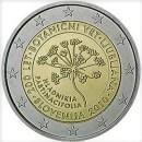 2 Euro Slowenien 2010 Münze 200 Jahre Botanischer Garten