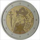 Slowenien 2014 2 Euro Münze 600 Jahre Krönung Barbara von Cilli