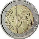 2 Euro Spanien 2005 Münze Don Quixote