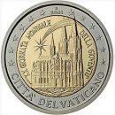 Vatikan 2005 2 Euro Münze Weltjugendtag