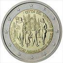Vatikan 2012 2 Euro Münze Weltfamilientreffen