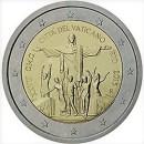 2 Euro Vatikan 2013 Münze 28. Weltjugendtag