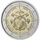 Vatikan 2013 2 Euro Münze Sede vacante