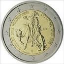 Vatikan 2016 2 Euro Münze Barmherzigkeit
