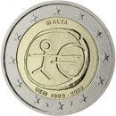 WWU-Malta-2009-2-Euro-Münze