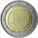 WWU Slowenien 2009 2 Euro Münze