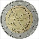 WWU Zypern 2009 2 Euro Münze