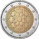 Frankreich 2018 2 Euro Kornblume