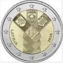 Lettland 2018 2 Euro 100 Jahre Unabhängigkeit