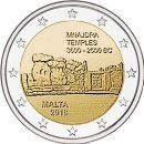 Malta 2018 2 Euro Tempel von Mnajdra