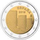 Spanien 2019 2 Euro Welterbeserie Avila