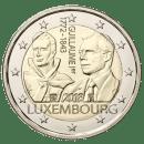Luxemburg 2018 2 Euro Münze Guillaume