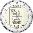 Malta 2018 2 Euro Von Kindern mit Solidarität