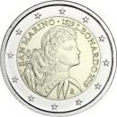 San Marino 2019 2 Euro Todestag von Leonardo da Vinci