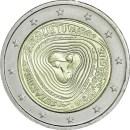 Litauen 2019 2 Euro Polyphone Lieder