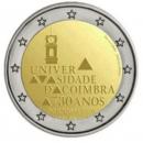 Portugal 2020 2 Euro 730 Jahre Universität Coimbra