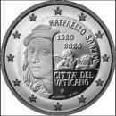 Vatikan 2020 2 Euro Raffael