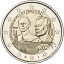 Luxemburg 2021 2 Euro Geburtstag Jean als Relief