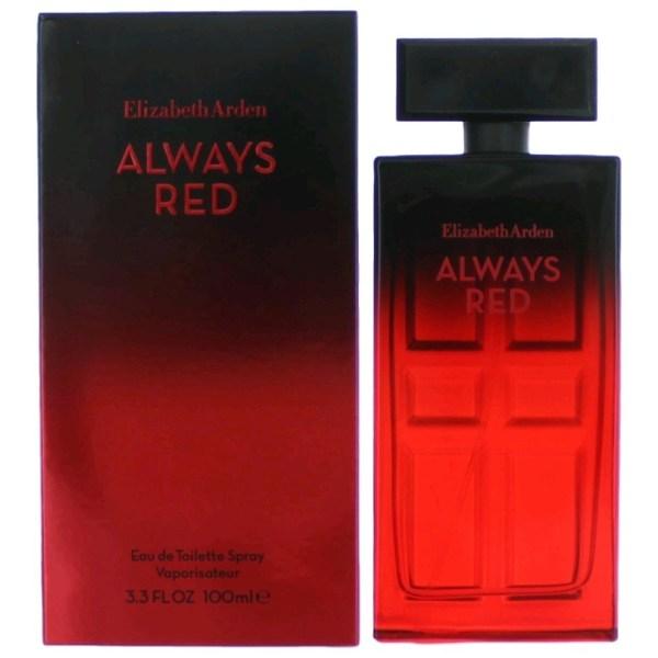Elizabeth Arden Eau De Toilette Always Red 100 ml