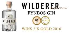 Wilderer Fynbos Gin Award