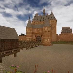 Historisch stukje 's-Hertogenbosch in VR