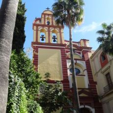 Malaga, Spanje - kerk Iglesia de San Agustin