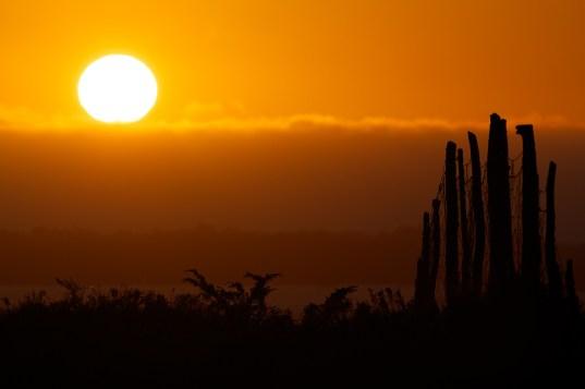 Sunset på Lygra