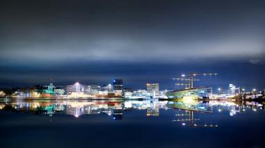 Bergen skyline