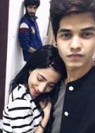 Sakshi Chopra with her boyfriend