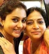 Namitha with her mother