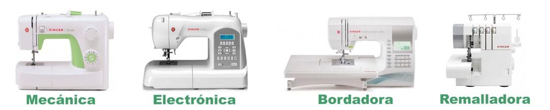 tipos de maquinas de coser singer